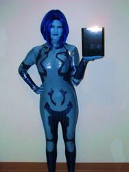 My Cortana cosplay-Still a WIP by BexiButton