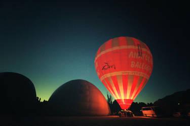 Hot air balloon by srnnrgz