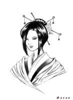 Geisha by faradayrx
