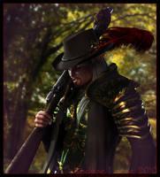 Mercenary by Lady-Akyashaa
