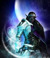 Ishtirdius, Moon's Crusader by Lady-Akyashaa