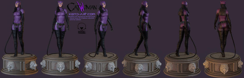 Catwoman - Full Model Shots by kdoyle9