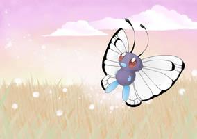 Wild Butterfree by ArtsyMaria