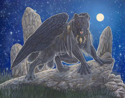 Night Flyer by RavenTimberwolf