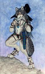 Eye of the shamaness by RavenTimberwolf