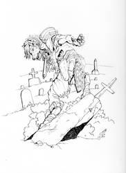 Hunter's territory by RavenTimberwolf