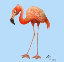 Flamingo by RavenTimberwolf