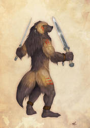 Wolverine Berserker by RavenTimberwolf