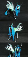 A liberal interpretation of Queen Chrysalis by PrototypeSpaceMonkey