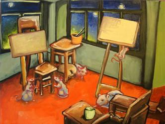 The Artists Studio by aaronAdrian