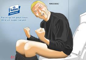 Papier toilette DBZ by teratani