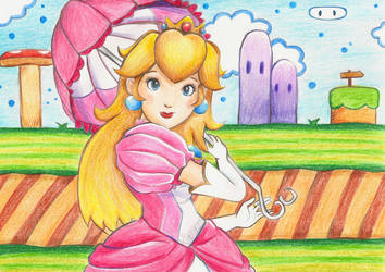 Another Sunny Day In Mushroom Kingdom by X-Tidus-kisses