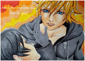 Am I the one who did that to you? by X-Tidus-kisses