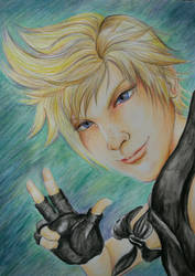 Final Fantasy XV first anniversary by X-Tidus-kisses