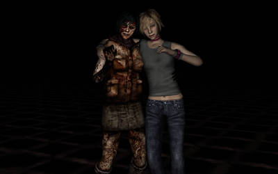 Silent Hill 3 Cheryl and Alessa (ReEdit) by DarkReign27