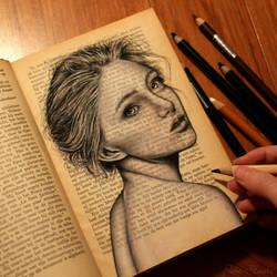 Book sketch by pamslaats
