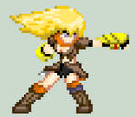Pixel Yang Xiao Long by RyuRyugami