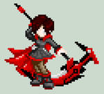 Pixel Ruby Rose by RyuRyugami