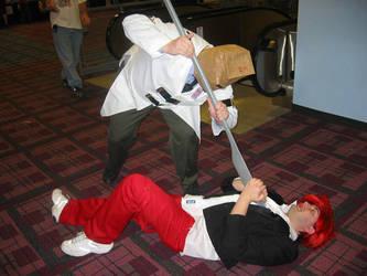 Ohayocon Battles Faust Triumph by BlackRavenSluagh