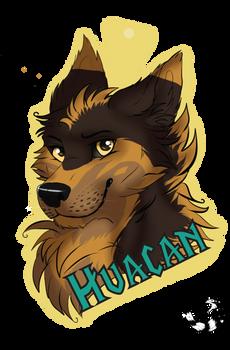 Badge Huacan by Tartoche