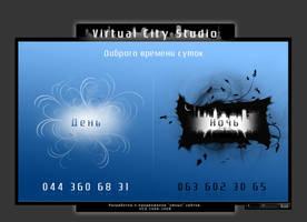 Design for my web studio by masteryan