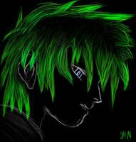 YAN: nature green in black by masteryan