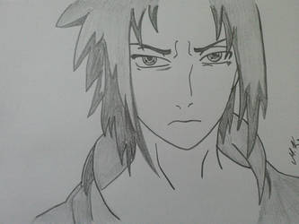 Uchiha Sasuke by hadira