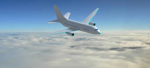 passenger aircraft with catia by hadira