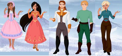 Kingdom of Lore Adopts by Princess-Rosella