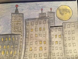 Pencil City by EvaMonkey