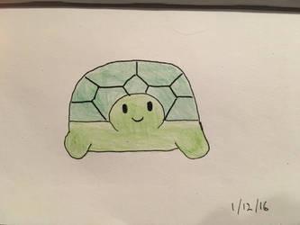 Tiny Turtle by EvaMonkey