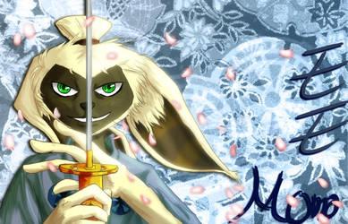 Musashi Momo - WIP by sylvacoer