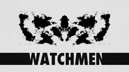 Minimalist Watchmen Wallpaper : Rorschach by Shaurden