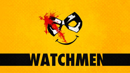 Minimalist Watchmen Wallpaper : The Comedian by Shaurden