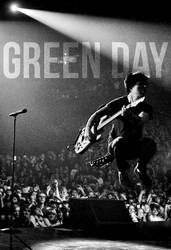 Green Day Poster by Shaurden