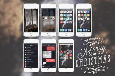 December 2014 iPhone setup // Merry X-mas! by neopolitandoll