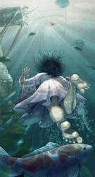Mermaid by silentillusion