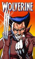 Frank Miller Wolverine Tribute by Flashback33