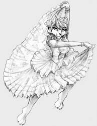 COMMISSION:Russian gypsy Krystal by Naaraskettu
