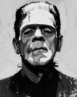 Frankenstein's monster by Ink-Orporate