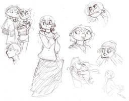 HA - Random Sketches by SquirrelTamer