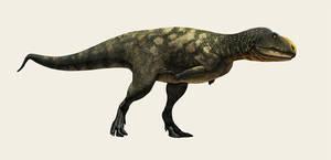Eoabelisaurus by Olorotitan