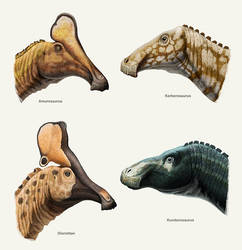 Hadrosaurs of the Amur region. by Olorotitan