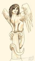 the theban sphinx by pandorabox