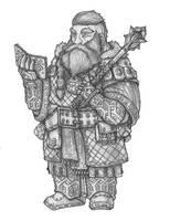 Filrik Danherdst - Dwarf Cleric of Boccob by s0ulafein