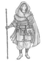 [COMMISSION] Hyde - Half-Elf Sorcerer by s0ulafein