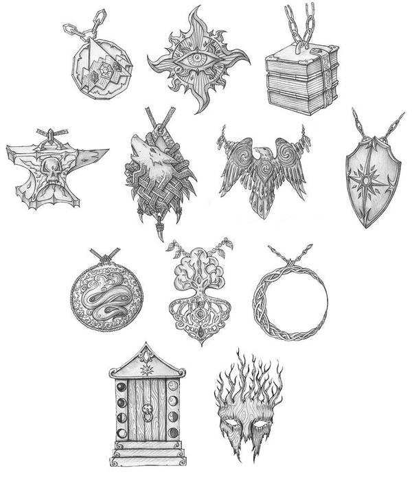 [COMMISSION] Holy Symbols by s0ulafein