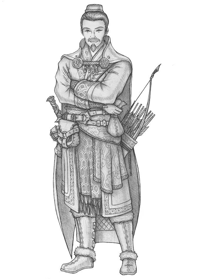 Komei Kunmin - Human Ranger (Guild Artisan) by s0ulafein
