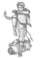 Shen - Human Monk by s0ulafein