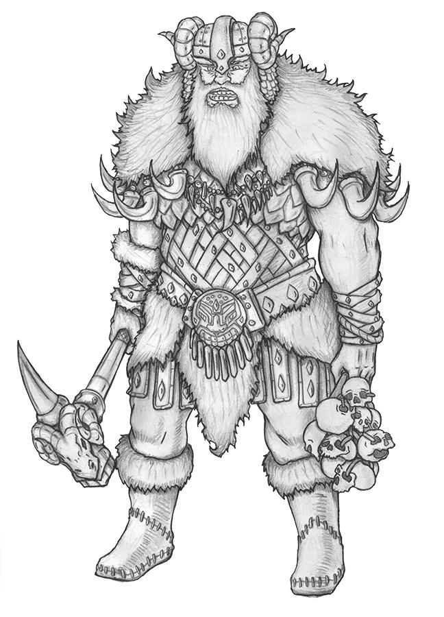 [COMMISSION] Frost Giant by s0ulafein